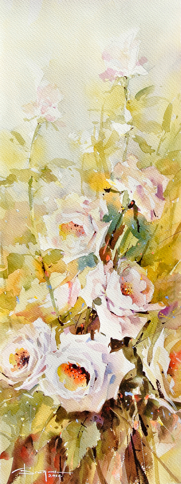 Watercolour-Acuarela-Corneliu-Dragan-Targoviste-floral-23