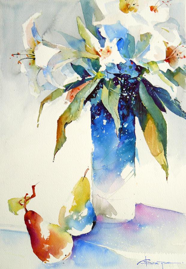 Watercolour-Acuarela-Corneliu-Dragan-Targoviste-natura-moarta-compozitie-1