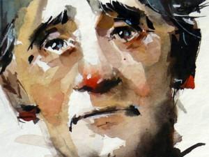 Watercolour-Acuarela-Corneliu-Dragan-Targoviste-portret-0