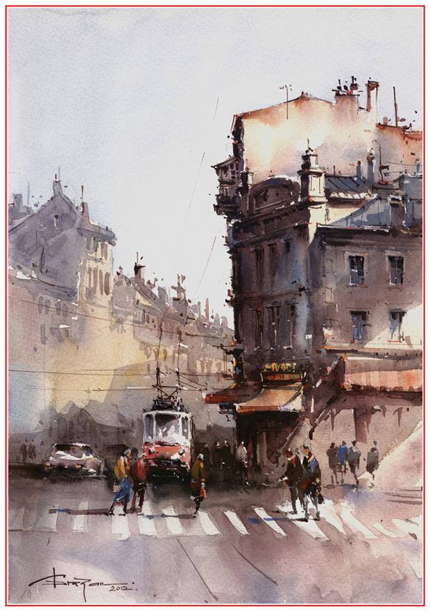 watercolor-painting-Corneliu-Dragan-Targoviste-shanghai-international-watercolour-biennial-2012