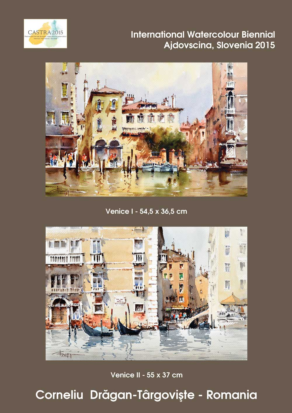 International-Watercolour-Biennial-CASTRA-2015--Slovenia Corneliu Dragan Targoviste