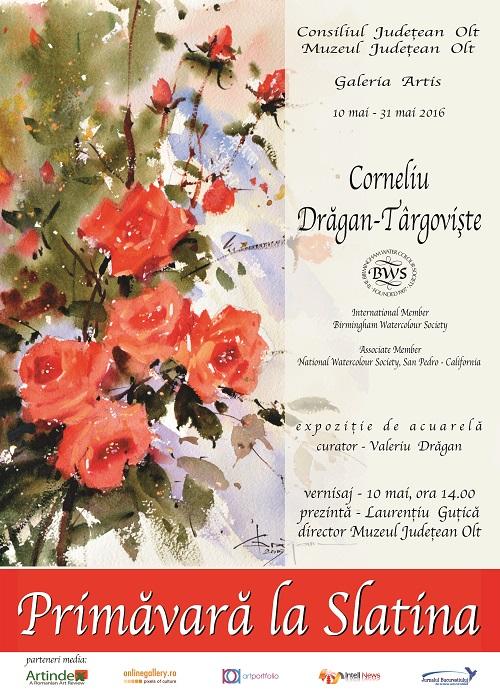 afis slatina corneliu dragan-targoviste galeria artis