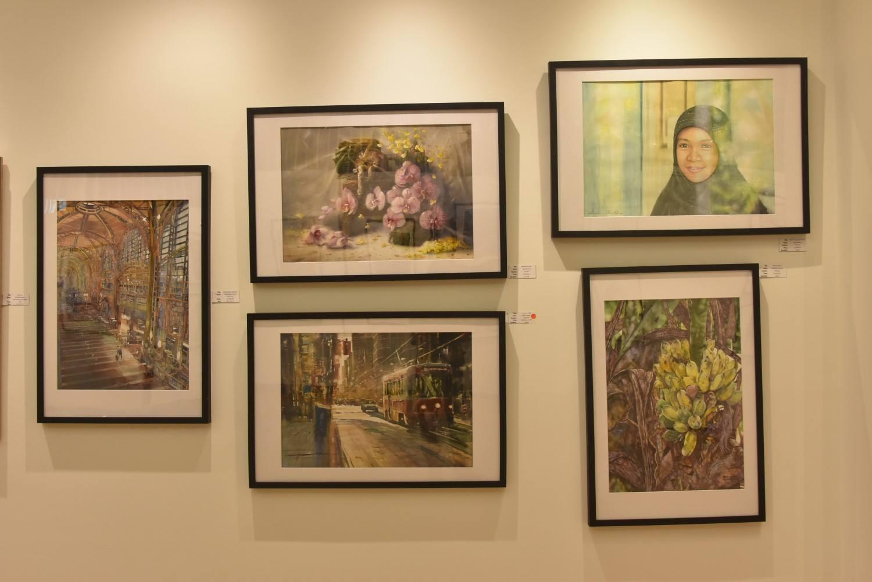 International Watercolour Biennale – Canada,  7    Vancouver, 5 – 25 iuly 2016  Corneliu Drăgan-Târgoviște