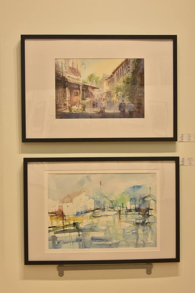 International Watercolour Biennale – Canada,  8    Vancouver, 5 – 25 iuly 2016  Corneliu Drăgan-Târgoviște